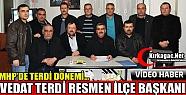 TERDİ RESMEN İLÇE BAŞKANI(VİDEO)