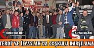 TERDİ'YE İLYASLAR'DA COŞKULU KARŞILAMA