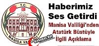 VALİLİK'TEN 'YERDE BULUNAN ATATÜRK...