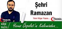 YAVUZ ÖZPOLAT 'ŞEHRİ RAMAZAN'