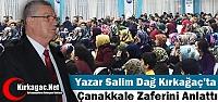 YAZAR DAĞ KIRKAĞAÇ'TA ÇANAKKALE ZAFERİNİ...
