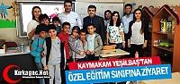 YEŞİLBAŞ'TAN ÖZEL EĞİTİM SINIFINA...