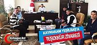 YILDIZSPOR'DAN KAYMAKAM DR.YEŞİLBAŞ'...