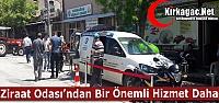 ZİRAAT ODASI'NDAN BİR ÖNEMLİ HİZMET...