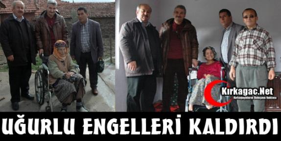 UĞURLU ENGELLERİ KALDIRDI