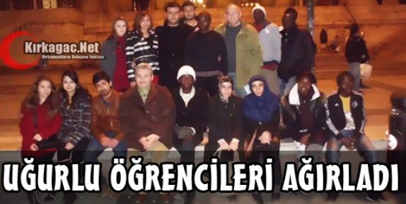 UĞURLU ÖĞRENCİLERİ İSTANBUL'DA AĞIRLADI
