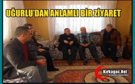 UĞURLU'DAN KAÇIRILAN SÖKE'Lİ POLİSİN AİLESİNE ZİYARET