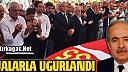 M.ORHAN DAUT DUALARLA TOPRAĞA VERİLDİ