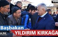 SON BAŞBAKAN BİNALİ YILDIRIM KIRKAĞAÇ'TA(VİDEO)