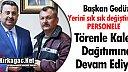 """GEDÜZ'DEN """"TÖRENLE"""" KALEM DAĞITIMI DEVAM EDİYOR"""