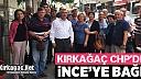 """İNCE'YE KIRKAĞAÇ'TAN """"BAĞIŞ"""" DESTEĞİ"""
