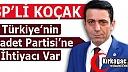 """KOÇAK """"MİLLETİMİZİN SAADET PARTİSİNE İHTİYACI VAR"""""""