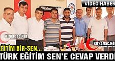 EĞİTİM BİR-SEN, TÜRK EĞİTİM-SEN'E CEVAP VERDİ (VİDEO)
