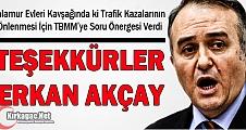 """MHP'Lİ ERKAN AKÇAY, """"ÖLÜM KAVŞAĞINI"""" TBMM'YE TAŞIDI"""