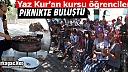 "KIRKAĞAÇ'TA KURAN KURSU ÖĞRENCİLERİNE ""PİKNİK"" SÜRPRİZİ"