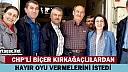 """CHP'Lİ BİÇER KIRKAĞAÇ'TA """"HAYIR"""" OYU İSTEDİ"""
