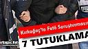 """KIRKAĞAÇ'TA 7 ESNAF """"FETÖ'DEN"""" TUTUKLANDI"""