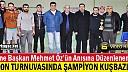 SALON TURNUVASINDA ŞAMPİYON KUŞBAZLAR