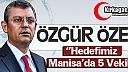 """ÖZEL """"MANİSA'DA HEDEFİMİZ 5 VEKİL"""""""