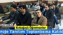 KIRKAĞAÇ'TA ÖĞRETMENLER PROJE TANITIM TOPLANTISINA KATILDI