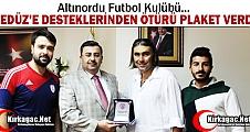ALTINORDU'DAN GEDÜZ'E TEŞEKKÜR