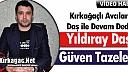 """KIRKAĞAÇLI AVCILAR """"DAŞ"""" İLE DEVAM DEDİ(VİDEO)"""