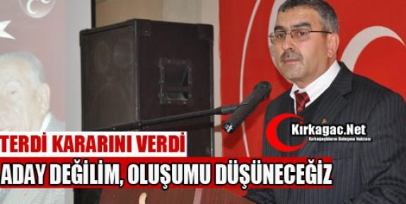 VE MHP'Lİ TERDİ KARARINI VERDİ