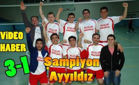 Voleybolda Şampiyon AY YILDIZ(VİDEO)