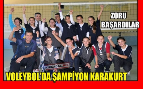 VOLEYBOL'DA ŞAMPİYON KARAKURT 75.YIL