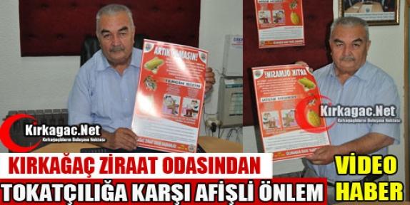 """ZİRAAT ODASI'NDAN 'TOKATÇILIĞA"""" KARŞI ANLAMLI AFİŞ"""