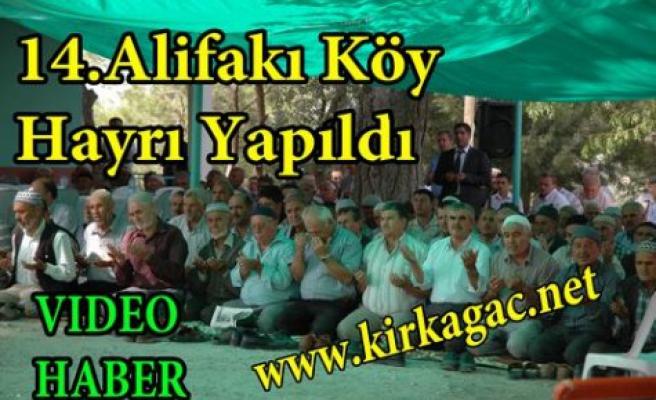 14.Alifakı Köy Hayrına Büyük İlgi(VİDEO HABER)