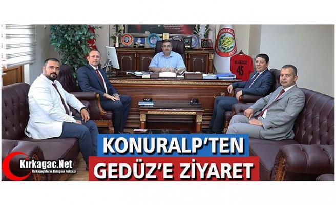 KONURALP'TEN GEDÜZ'E ZİYARET