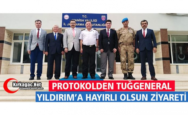 PROTOKOLDEN TUĞGENERAL YILDIRIM'A ZİYARET