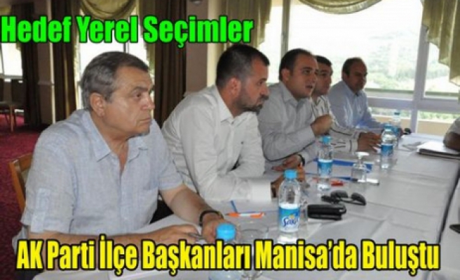AK Parti Yerel Seçim Çalışmasına Başlıyor
