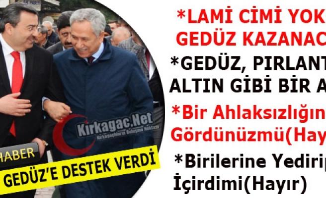 "ARINÇ ""GEDÜZ, PIRLANTA, ALTIN GİBİ ADAM""(VİDEO)"
