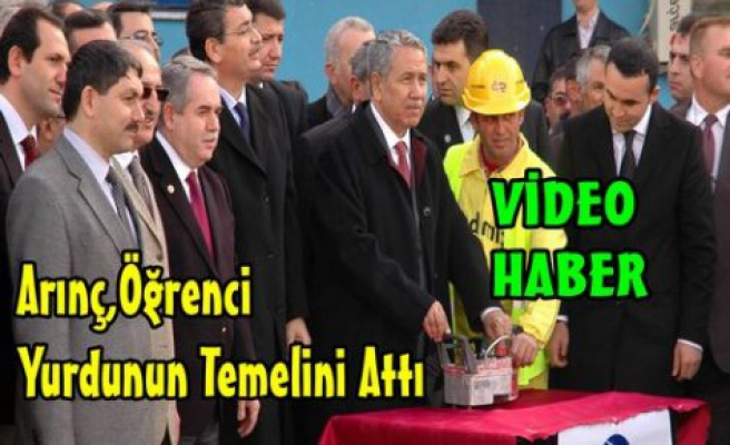 ARINÇ, KIRKAĞAÇ'TA TEMEL ATTI(VİDEO)