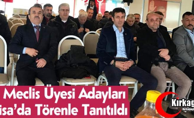 BBP MECLİS ÜYESİ ADAYLARI MANİSA'DA TANITILDI