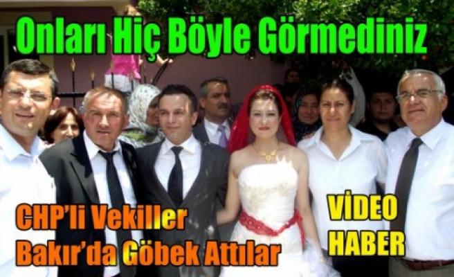 CHP'li Vekiller Bakır'da Göbek Attı(VİDEO)