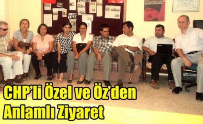CHP'li Vekillerden Anlamlı Ziyaret