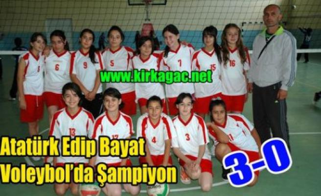 Edip Bayat İ.Ö Okulu Şampiyon 3-0