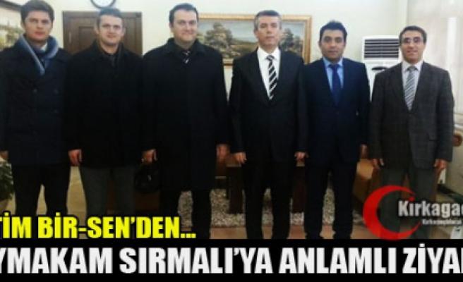 EĞİTİM BİR SEN'DEN SIRMALI'YA ANLAMLI ZİYARET