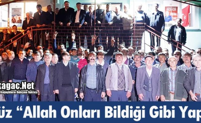 """GEDÜZ """"ALLAH ONLARI BİLDİĞİ GİBİ YAPSIN"""""""