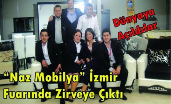 """İzmir Fuarının Gözdesi """"Naz Mobilya"""" Oldu"""