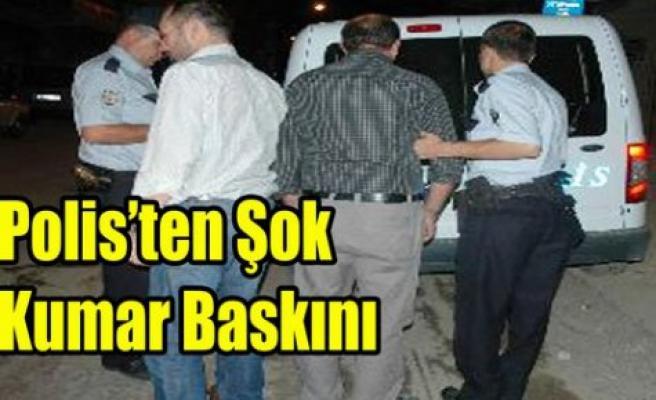 KIRKAĞAÇ POLİS'İNDEN ŞOK KUMAR BASKINI