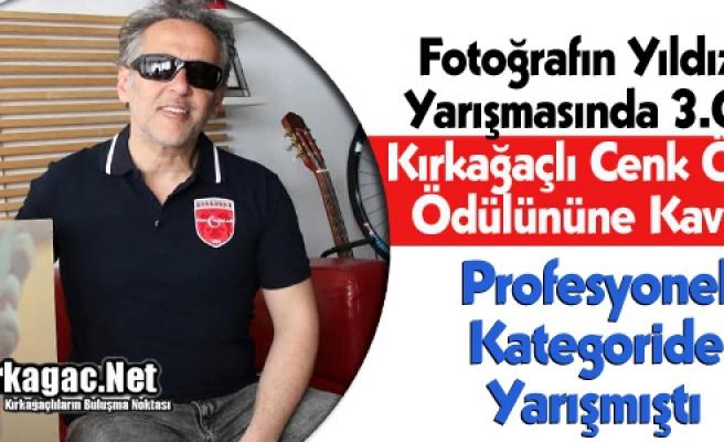 """KIRKAĞAÇLI CENK ÖZKAN """"ÖDÜLÜNE"""" KAVUŞTU"""