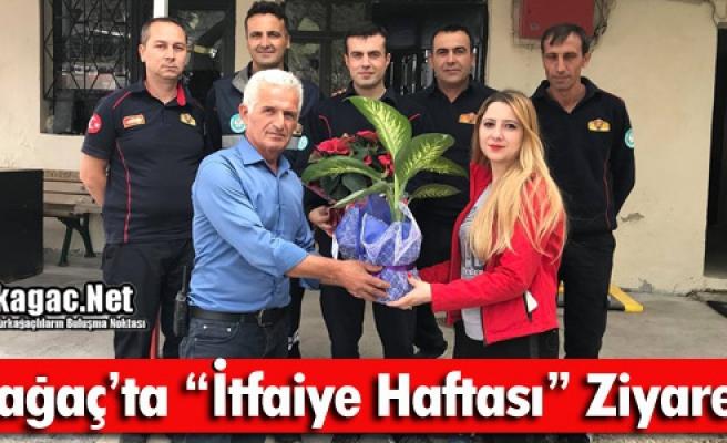 """KIRKAĞAÇ'TA """"İTFAİYE HAFTASI"""" ZİYARETLERİ"""
