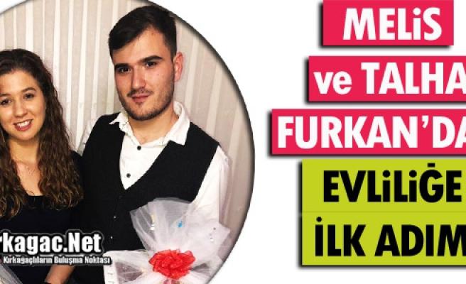 MELİS İLE TALHA FURKAN'DAN EVLİLİĞE İLK ADIM