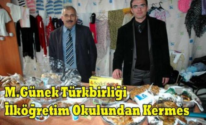 M.G Türkbirliği İ.Ö Okulundan Kermes