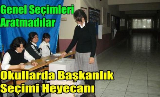 Okullarda Başkanlık Seçimi Heyecanı