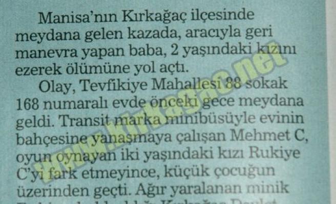 RUKİYE'NİN VEFAT HABERİ HABERTÜRK'TE YER ALDI
